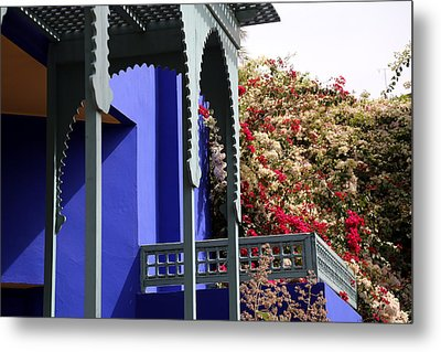 Metal Print featuring the photograph Jardin Majorelle 3 by Andrew Fare