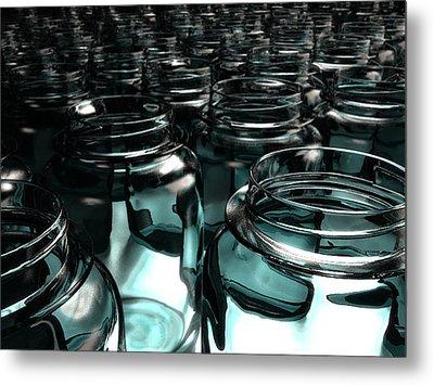Jars Metal Print by Joel Lueck