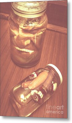 Jars Of Evil Monsters Metal Print by Jorgo Photography - Wall Art Gallery