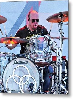 Jason Bonham Metal Print