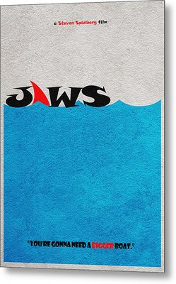 Jaws Metal Print by Ayse Deniz