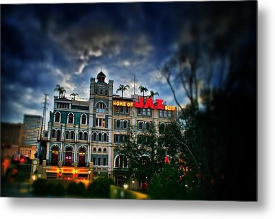 Metal Print featuring the photograph Jax Brewery  by Jim Albritton
