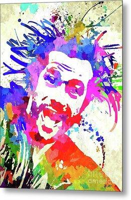 Jay Kay Jamiroquai Metal Print by Daniel Janda