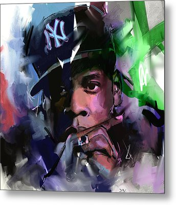 Jay Z Metal Print by Richard Day
