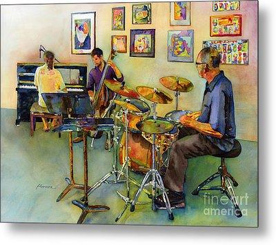 Jazz At The Gallery Metal Print