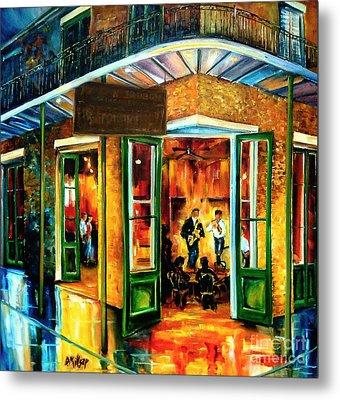 Jazz At The Maison Bourbon Metal Print