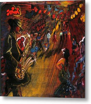 Jazz It Up Metal Print
