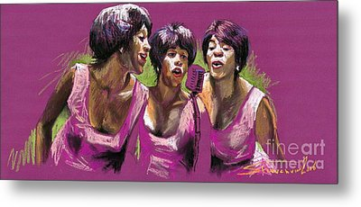 Jazz Trio Metal Print