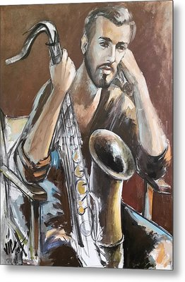 Jazz Metal Print by Vali Irina Ciobanu