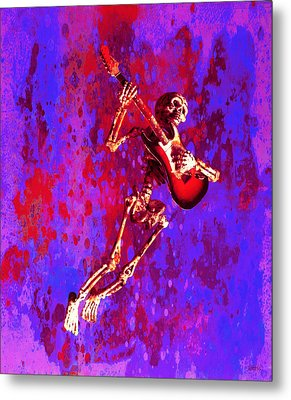 Metal Print featuring the photograph Jazzer by Jeff Gettis