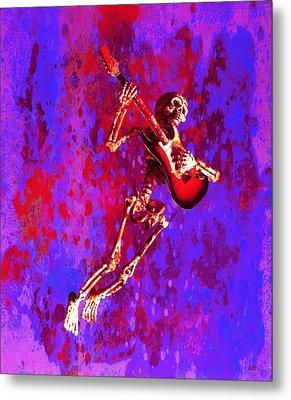 Jazzer Metal Print by Jeff Gettis