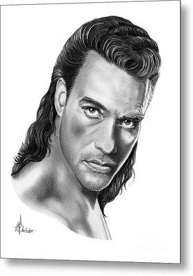 Jean-claude Van Damme Metal Print