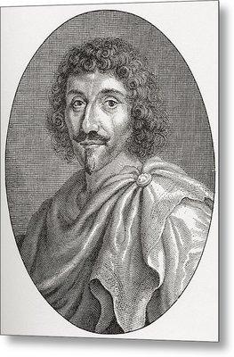 Jean-louis Guez De Balzac, 1597 - 1654 Metal Print