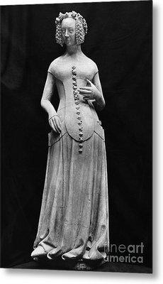 Jeanne II Dauvergne Metal Print by Granger