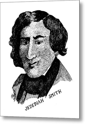 Jedediah S. Smith Metal Print by Clayton Cannaday