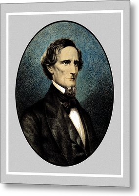 Jefferson Davis Metal Print