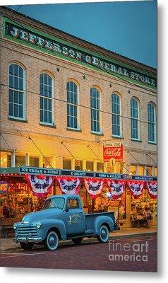Jefferson General Store Metal Print by Inge Johnsson