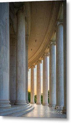 Jefferson Memorial Dawn Metal Print by Inge Johnsson