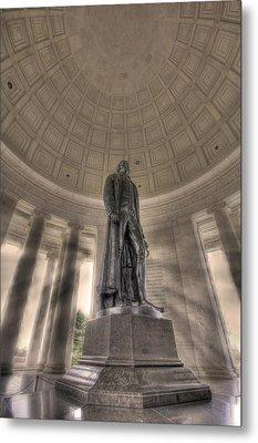 Jefferson Memorial Metal Print by Shelley Neff