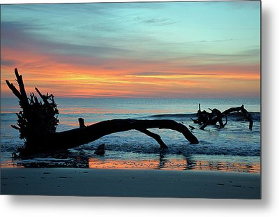 Metal Print featuring the photograph Jekyll Island Sunrise 2016a by Bruce Gourley