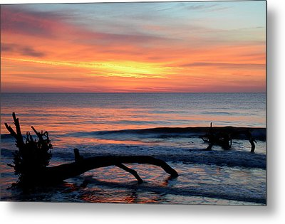 Metal Print featuring the photograph Jekyll Island Sunrise 2016b by Bruce Gourley