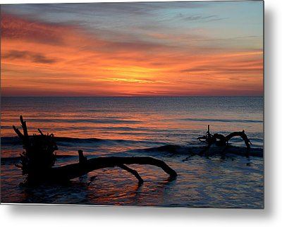 Metal Print featuring the photograph Jekyll Island Sunrise 2016c by Bruce Gourley
