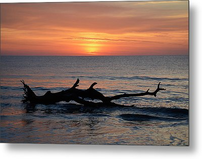 Metal Print featuring the photograph Jekyll Island Sunrise 2016d by Bruce Gourley