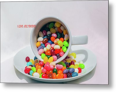 Jelly Beans Metal Print by Carolyn Dalessandro