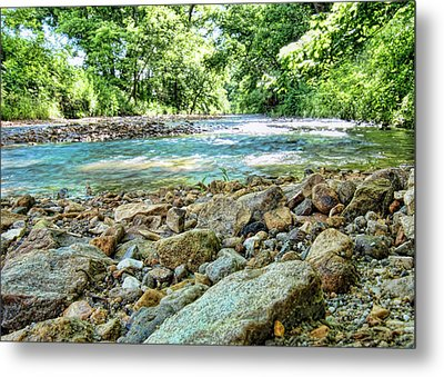 Metal Print featuring the photograph Jemerson Creek by Cricket Hackmann