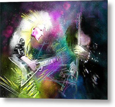 Jennifer Batten Metal Print