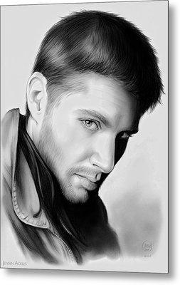 Jensen Ackles Metal Print by Greg Joens