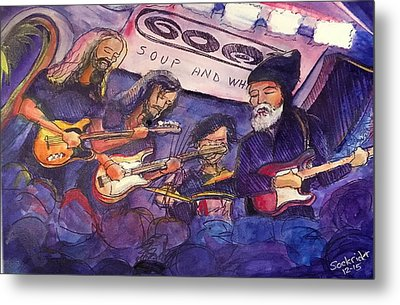 Jerry Joseph And The Jackmormons Metal Print by David Sockrider