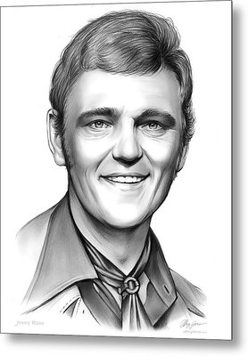 Jerry Reed Metal Print