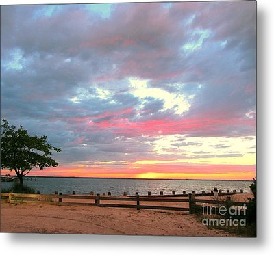 Jersey Summer  Metal Print by Susan Carella
