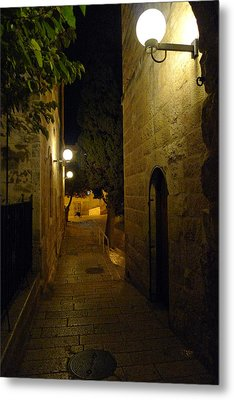 Metal Print featuring the photograph Jerusalem Of Copper 4 by Dubi Roman