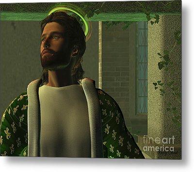 Jesus Metal Print by Corey Ford