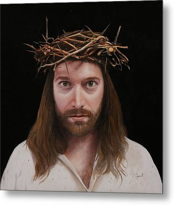 Jesus Metal Print by Guido Borelli