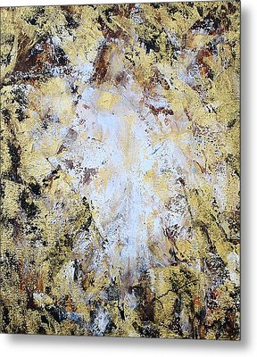 Jesus In Disguise Metal Print