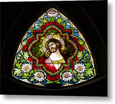 Jesus Redeemer Metal Print by Stephen Stookey