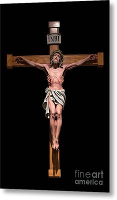 Metal Print featuring the photograph Jesus, Savior Of The World by Bonnie Barry