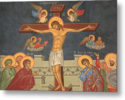 Jesus's Crucifixion Metal Print by Unknown
