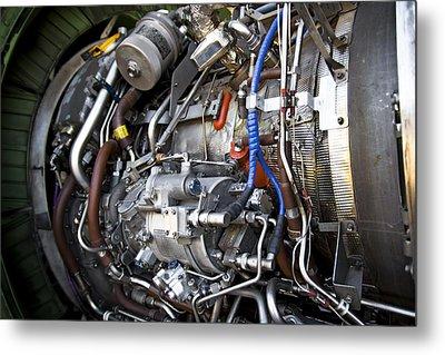 Jet Engine Metal Print by Ricky Barnard