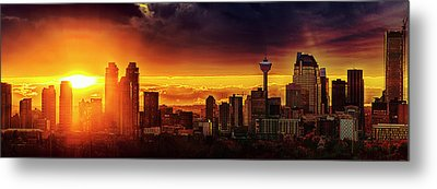 Jewel Of The Foothills Metal Print by John Poon