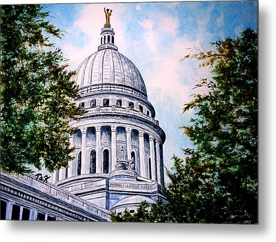 Jewel Of Wisconsin Metal Print by Thomas Kuchenbecker