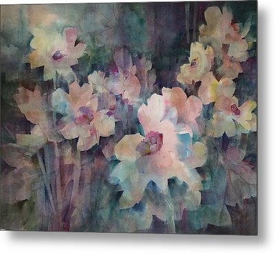 Jewels Of The Garden Metal Print