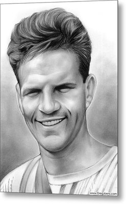 Jim Elliot Metal Print by Greg Joens