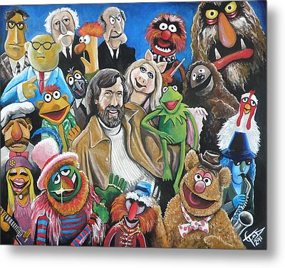 Jim Henson And Co. Metal Print by Tom Carlton