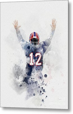 Jim Kelly Metal Print