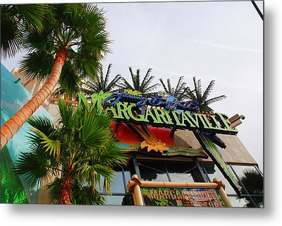 Jimmy Buffets Margaritaville In Las Vegas Metal Print by Susanne Van Hulst