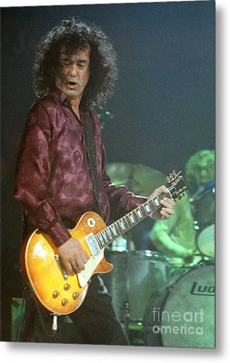 Jimmy Page-0005 Metal Print by Timothy Bischoff